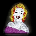 Norma-Jean-cm90x110-Led-Luminosi,-Pellicole-e-Perspex---2014---MARCO-LODOLA