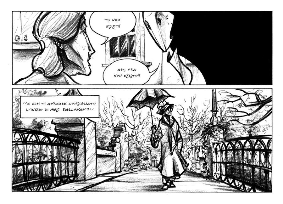Virginia Woolf's comic