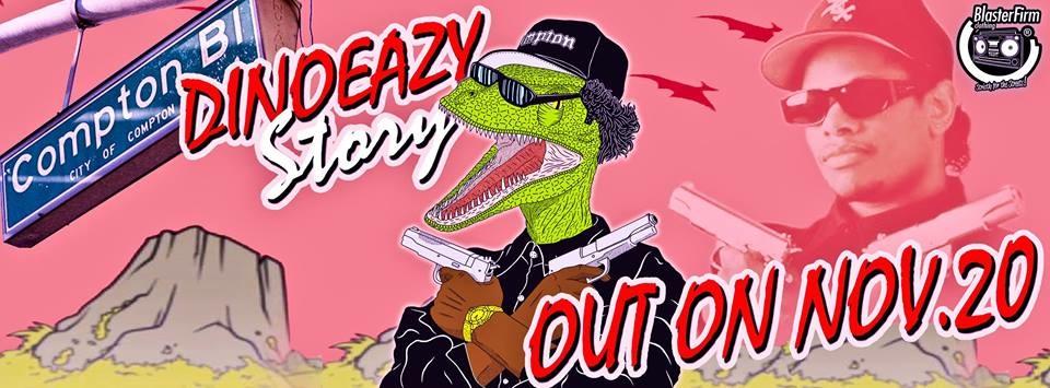 DINOEAZY tee Story – Il promo video sulla tee dedicata a Eazy-E