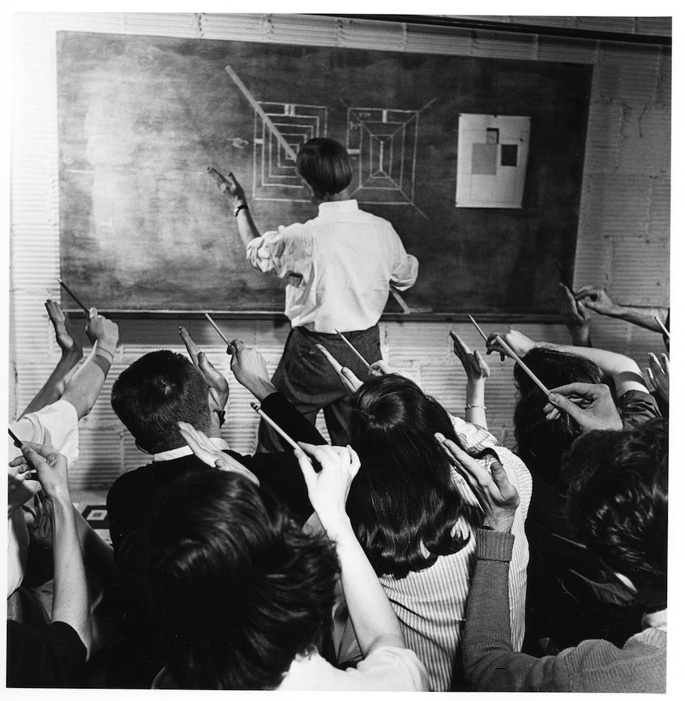 RICOMPOSIZIONI, omaggio a Josef Albers, immagine
