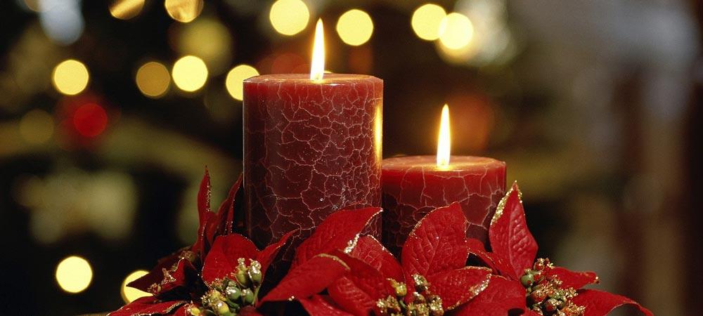 Romantico decor di Natale