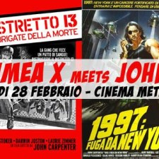CRIMEA X meets JOHN CARPENTER live at Cinema Metropolis Umbertide