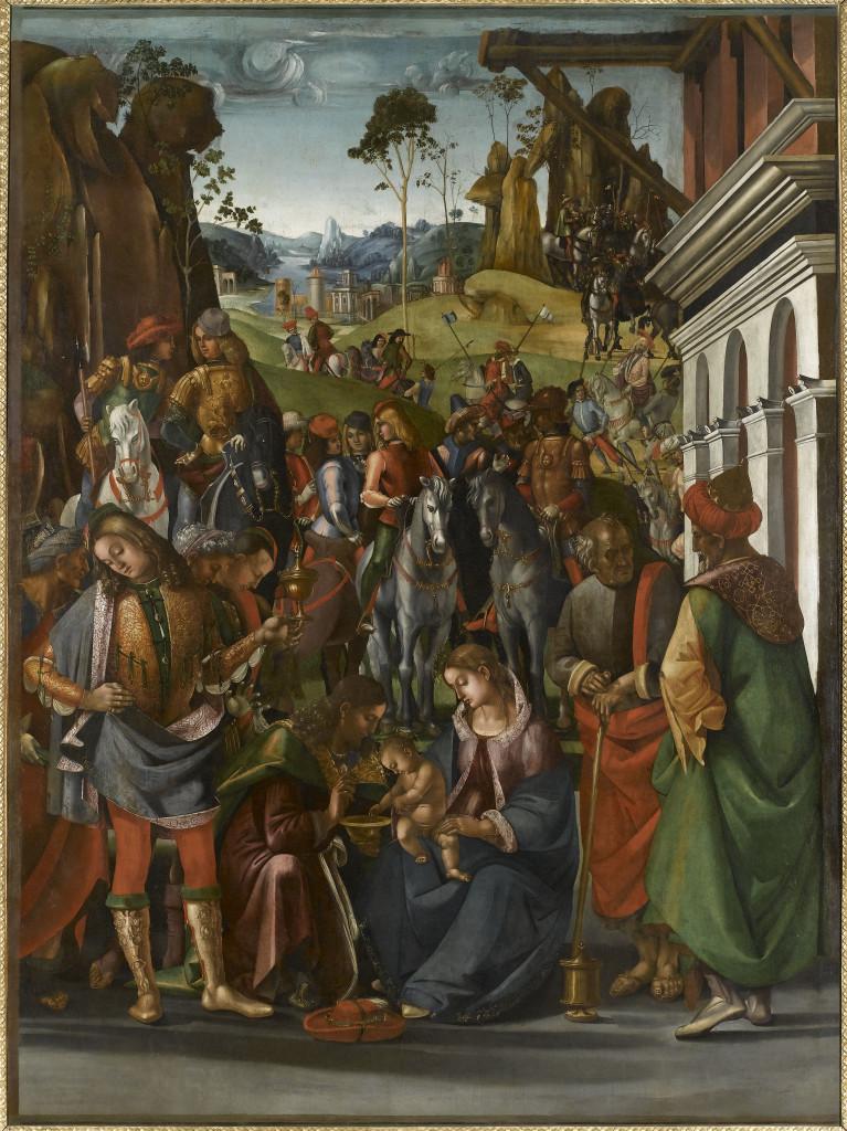 L-Signorelli-Adorazione-dei-Magi-1493-96-Louvre