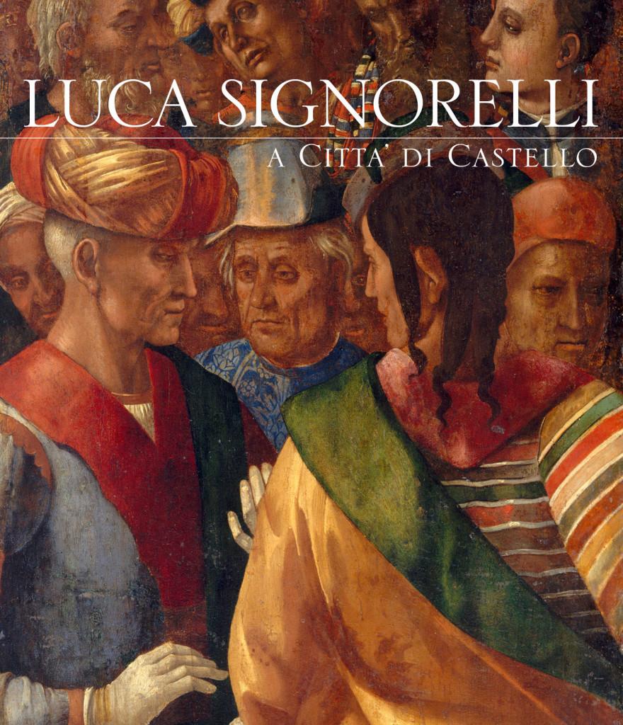 La copertina del volume dall'opera  Gruppo di personaggi 1493-96 (Louvre)