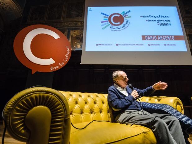 Dario Argento sul palco di immaginario festival