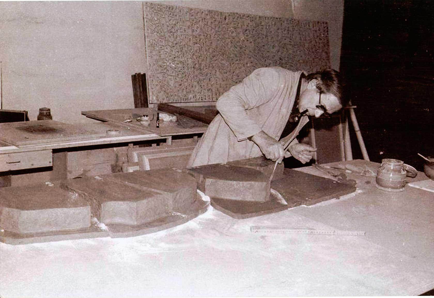 Alberto Burri grande cretto nero