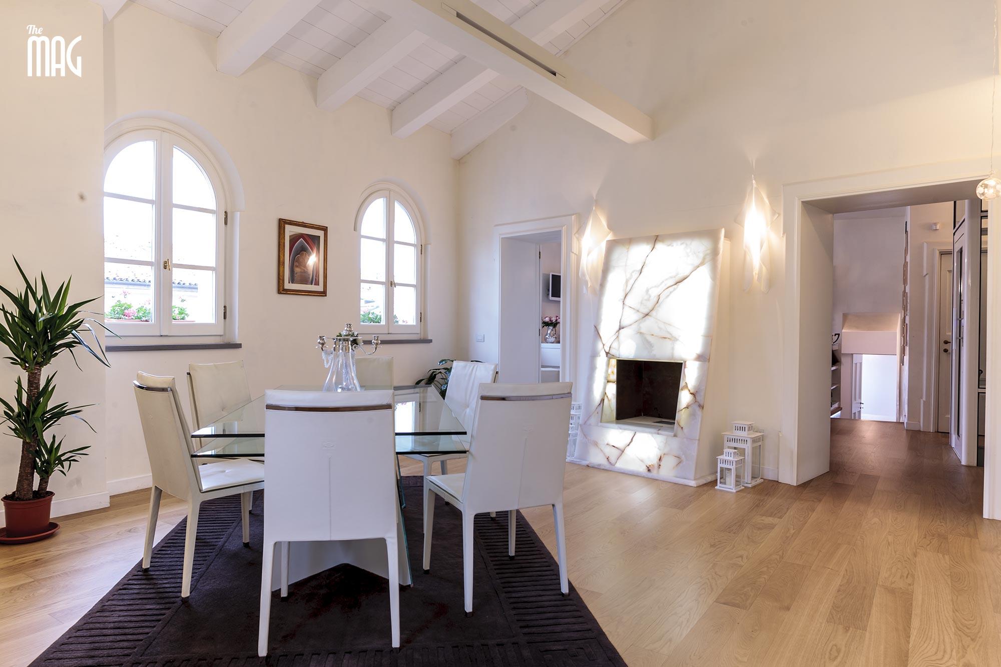 Arredamento soggiorno moderno con camino ~ avienix.com for .