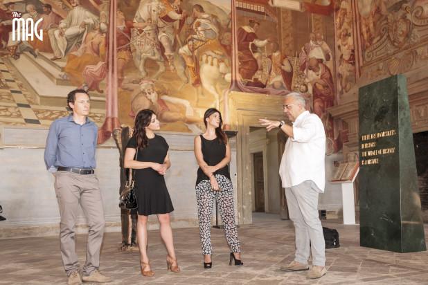 Valentina Lodovini e Lucia Rossi a Palazzo Vitelli