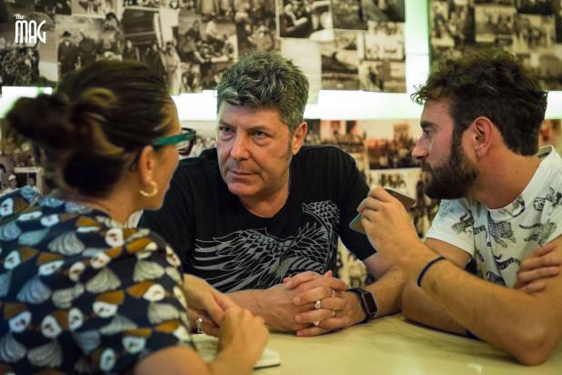Claudio Coccoluto intervistato da Lorenza Mangioni e Marco Polchi
