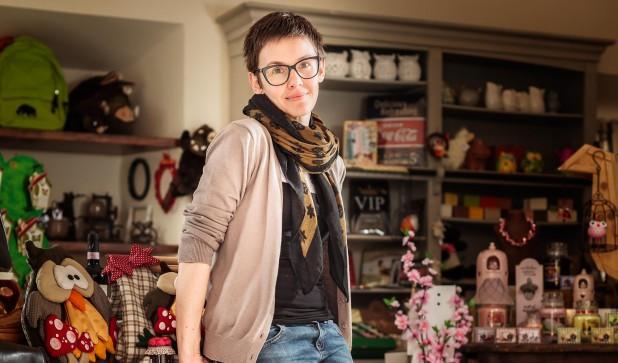 Ottavia Pittini posa per the Mag