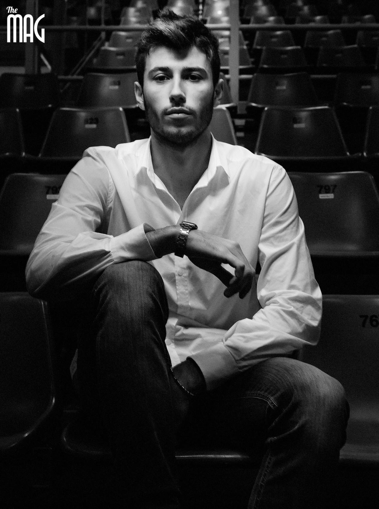 Luca Sartoretti - ritratto portrait B/W
