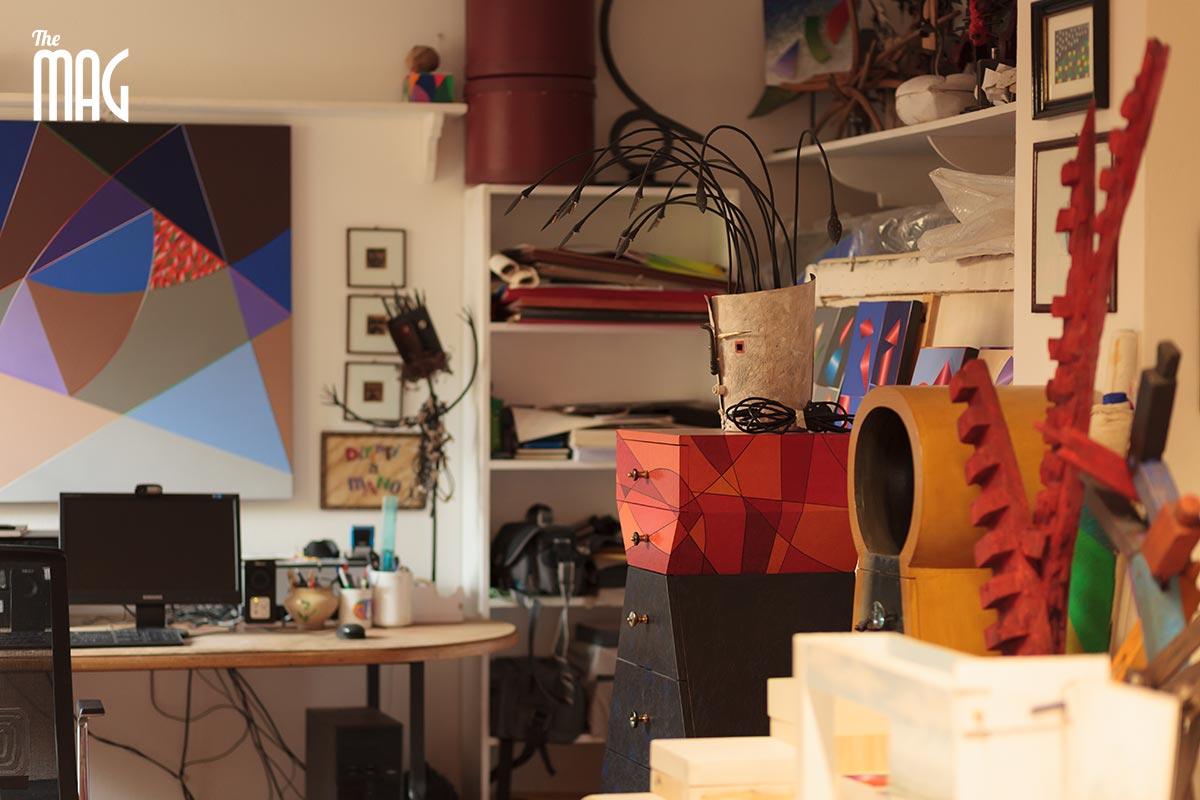 Elio Mariucci - workroom