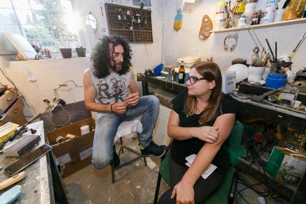 Francesco Fantini e Claudia Belli