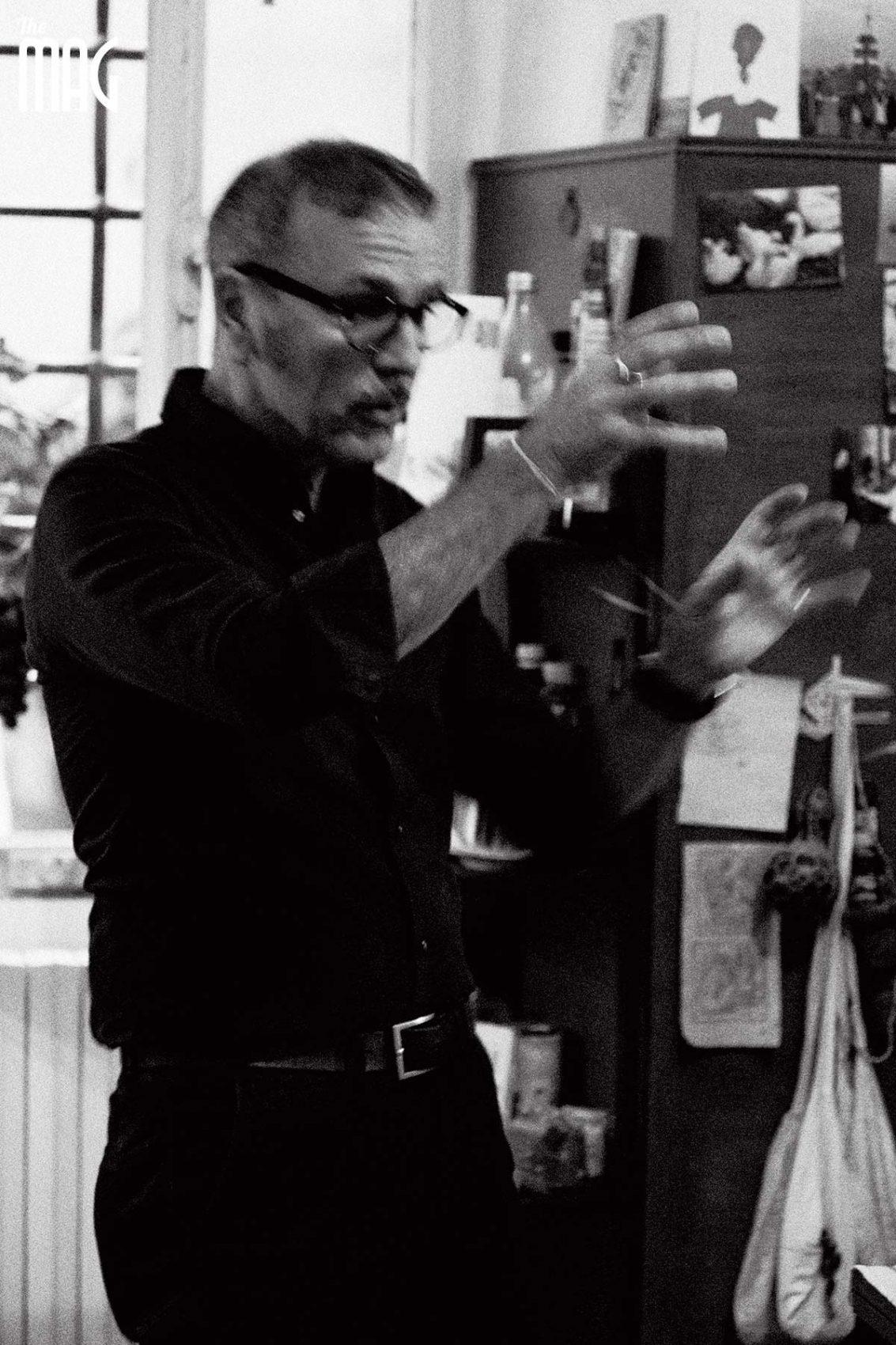 Giampaolo Tomassetti spiega la sua arte