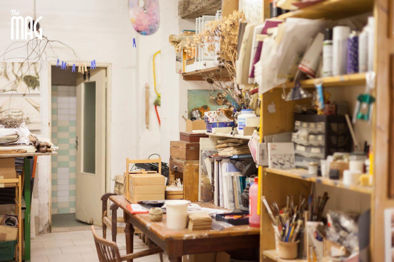 Il laboratorio di Ilaria Margutti a Sansepolcro