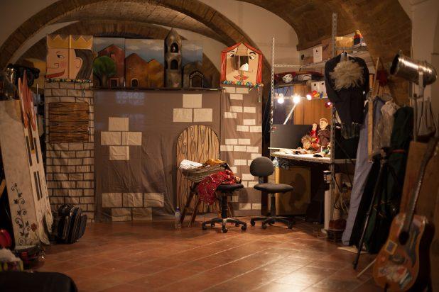 Foto scattata nel laboratorio di Damiano Zigrino