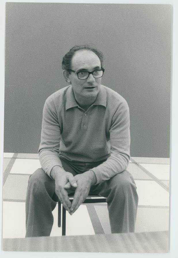 Ritratto di Nuvolo, Giorgio Ascani, del 1965
