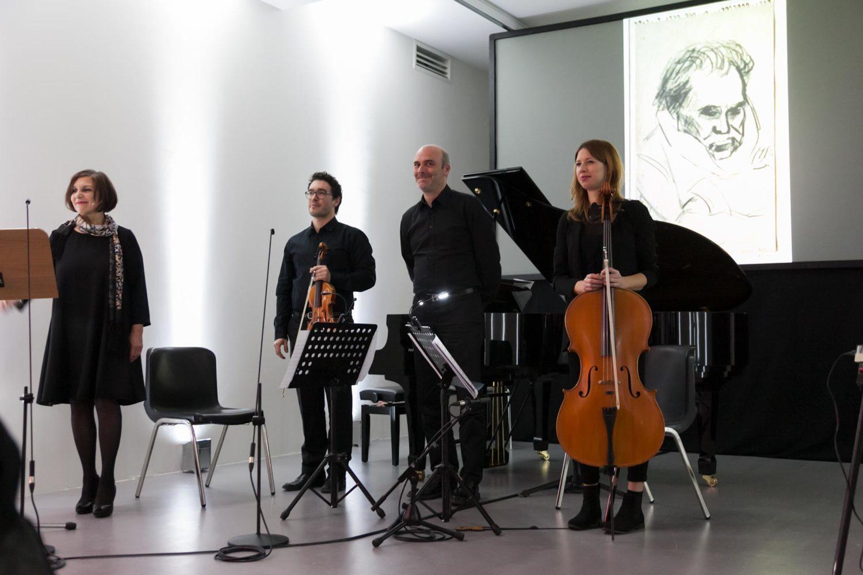 Burri Documenta - gli applausi dopo il concerto