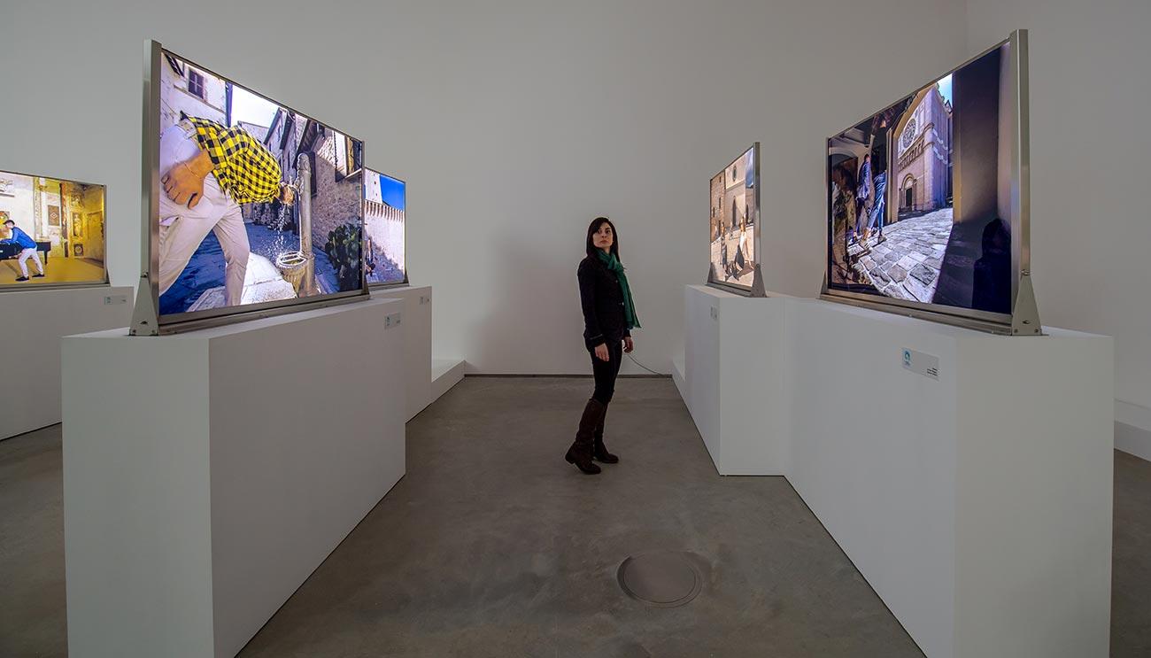 Diventi Umbria - gli interni dell'esposizione