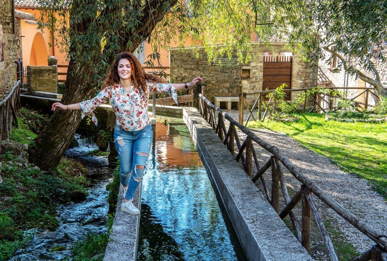 Diventi Umbria Rasiglia e i suoi canali