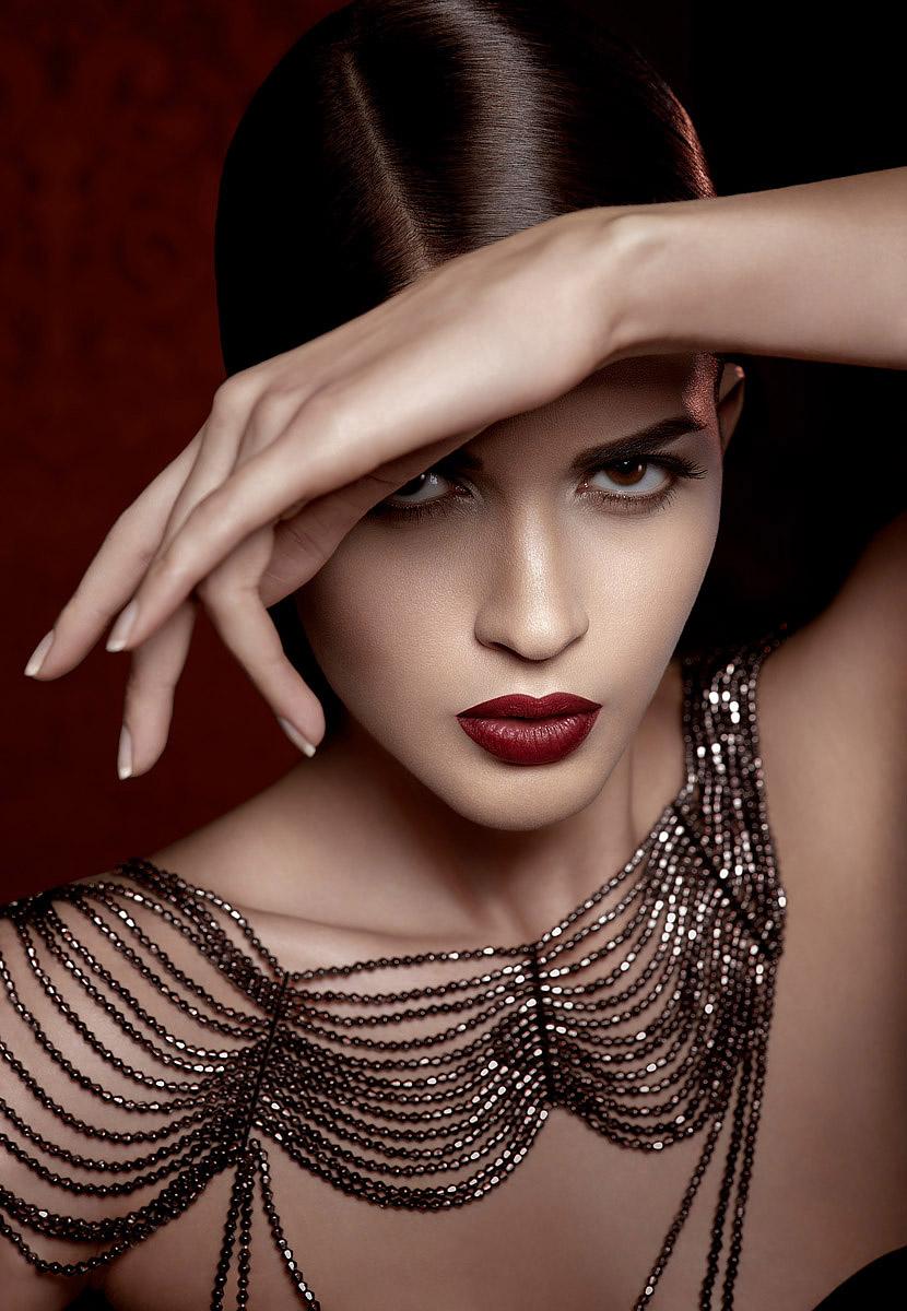 Foto di beauty con la modella Selene Gnavolini Photo: © Marianna Santoni - 2014