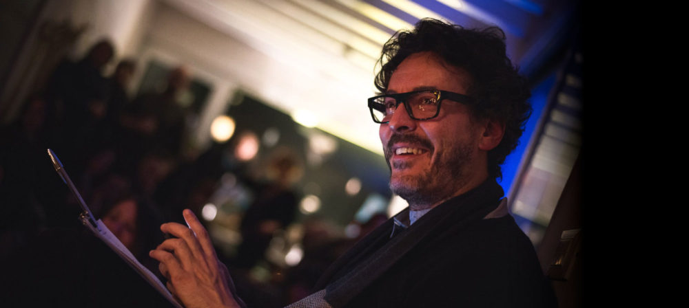 Andrea Luccioli mentre sorride