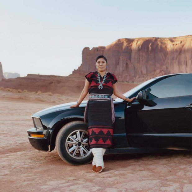 Carlotta Cardana - Evereta and her Mustang