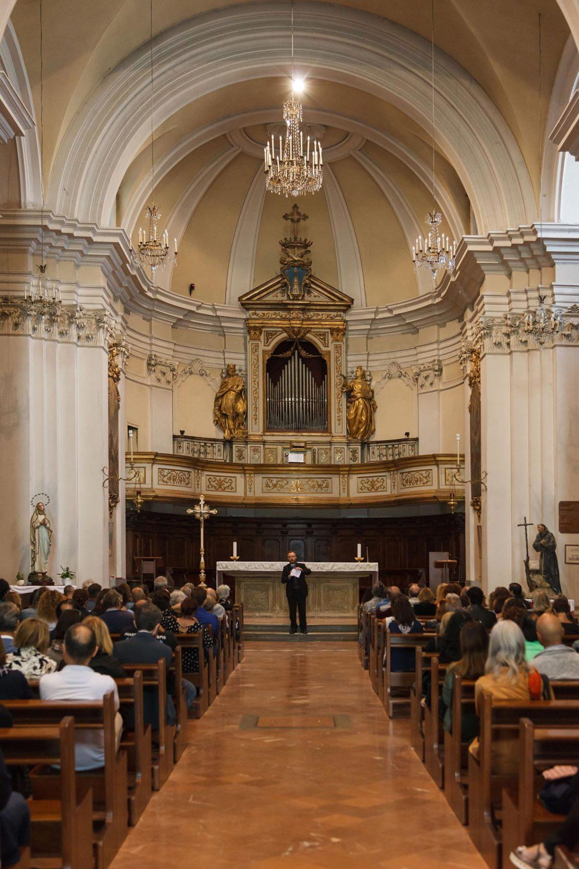 La chiesa di San Francesco - il grande organo