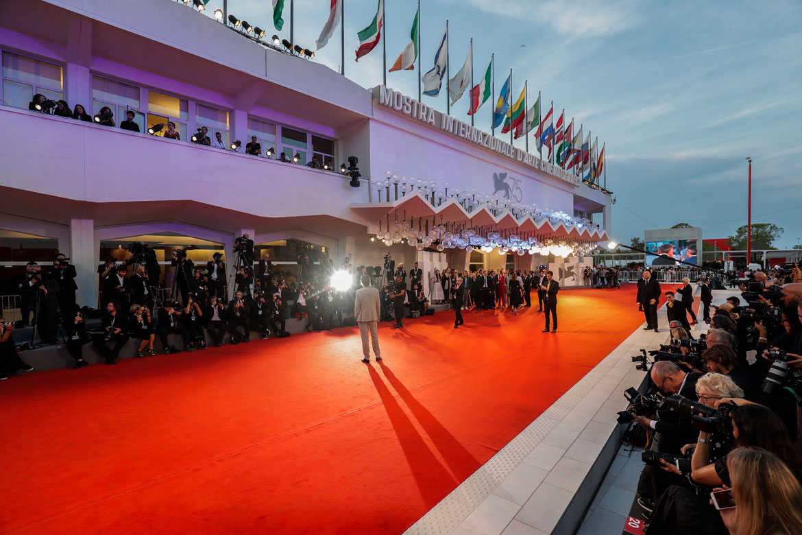 il red carpet di Venezia 75