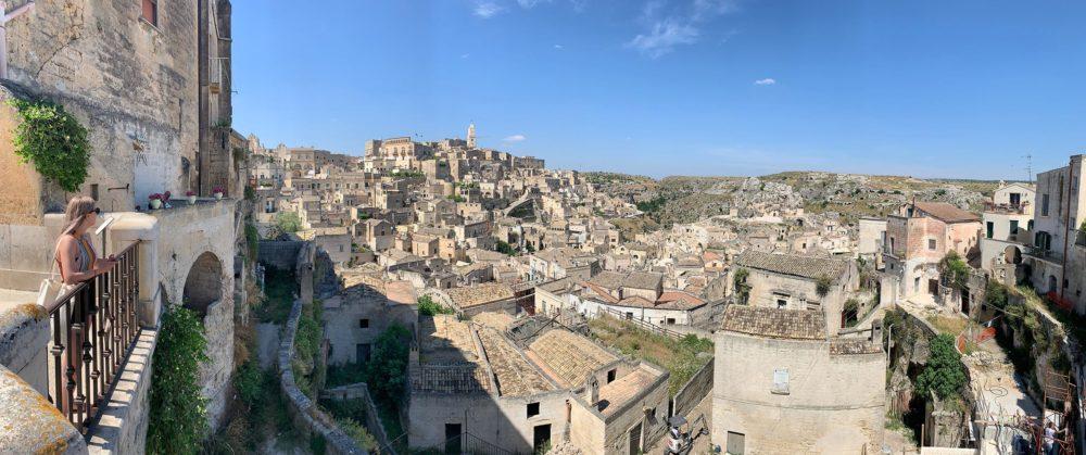 Skyline di Matera