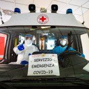 operatori della croce rossa - foto di Marco Giugliarelli
