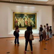 La primavera del Botticelli esposta nelle sale degli uffizi